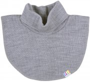 polo neck wool grey