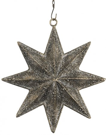 Star christmas metal