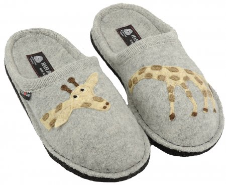 c3f9f59be22f Wool slippers with soft sole